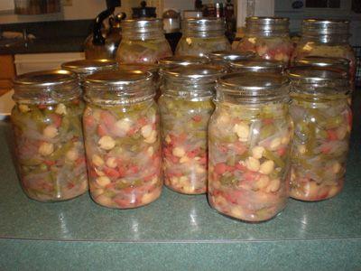 3 Bean Salad - Canning