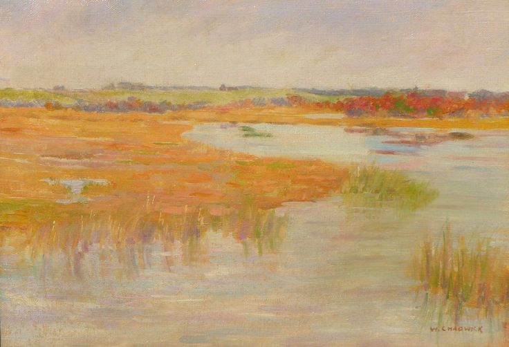 William Chadwick (1879-1962), Low Tide, Old Lyme, CT