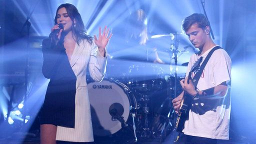 Watch The Tonight Show Starring Jimmy Fallon Season 4 Episode 109 Excerpt Free Online - Martin Garrix & Dua Lipa: Scared to Be Lonely | Yahoo View