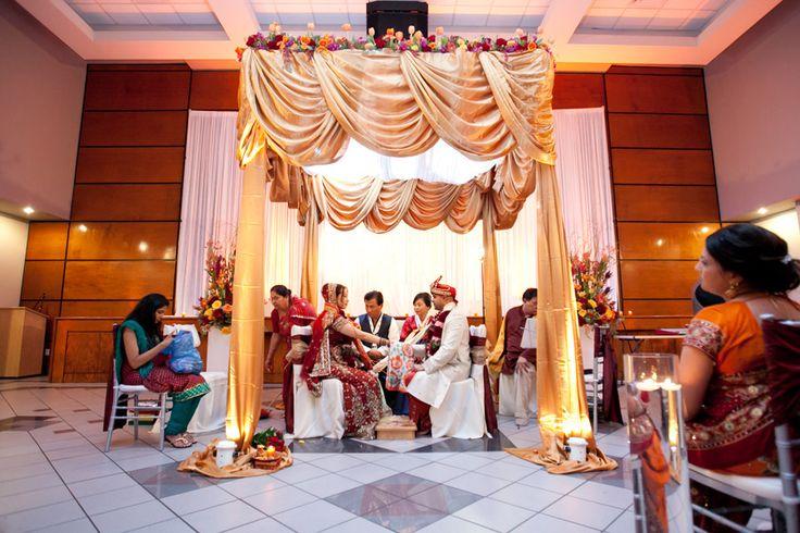 South Asian Wedding - Hare Krishna Temple Houston TX -  Steve Lee Photography - Weddings - Kat Creech Events