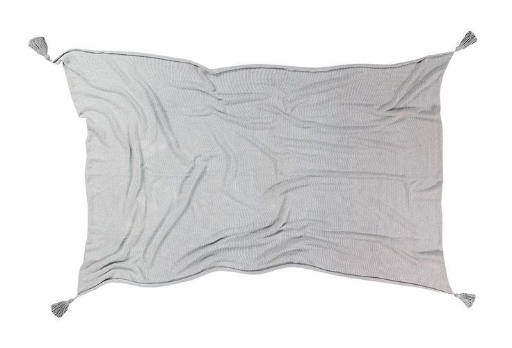 NEW Blanket Ombré Grey #washablerugs #lorenacanals #blanket #ombre