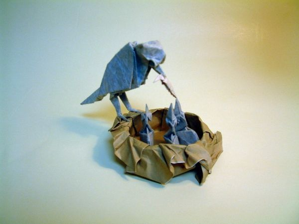 Origami by Akira Yoshizawa