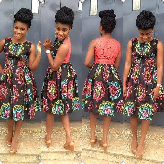 129 Best Images About Ankara Bridesmaids Dresses On Pinterest Short Dresses African Print