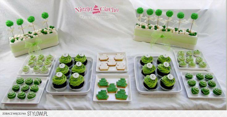 Słodki stół, cake pops, mini cake, cup cake, muffinki, ciasteczka, torciki, słodkie stoły, przyjęcie, eventy, Tarnów