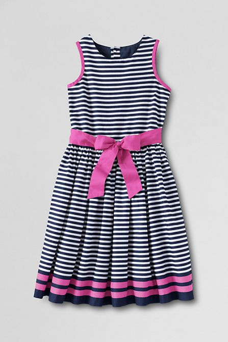 Girls' Print Woven Tulip Dress from Lands' End. from 49 to 35 dollars.... 5-18-14
