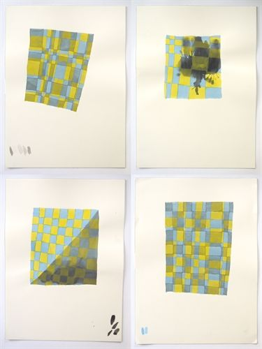 Untitled (Suite of 4 Works) by Peter Schuyff on artnet Auctions