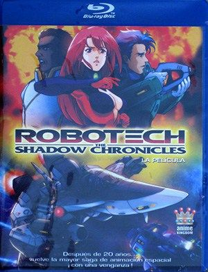 Blu-ray: Robotech. The Shadow Chronicles.