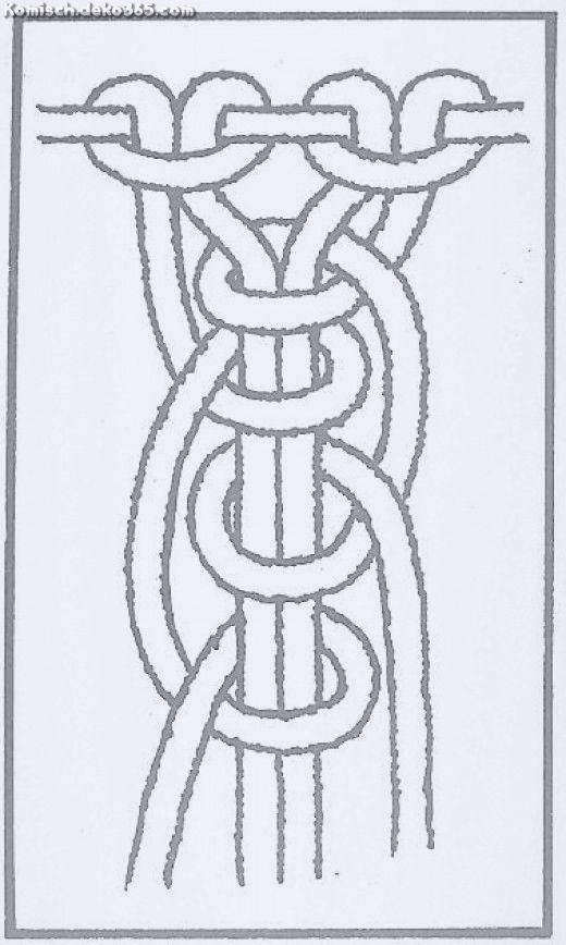 Zauberhafte Makramee – Wie man grundlegende Knoten knüpft und Ketten, Zöpfe und Seilmuster er…