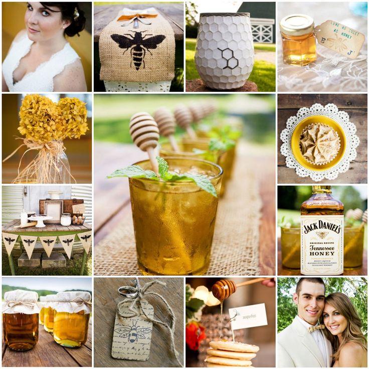 honeybee wedding | honey bee wedding inspiration