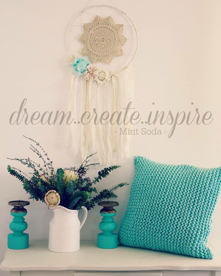 This is our favourite colour combo on Dream Catchers