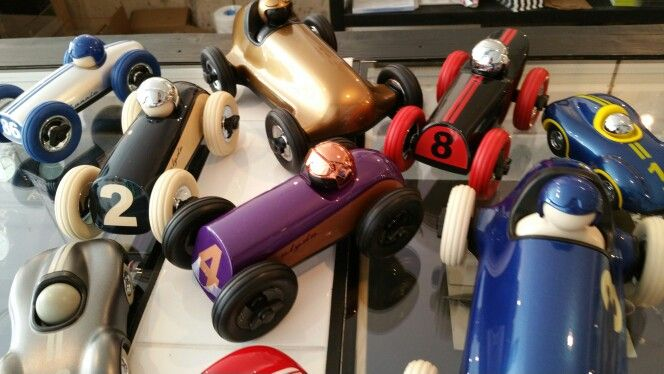 Racing cars @ Mashed concept store Amsterdam and Haarlem.