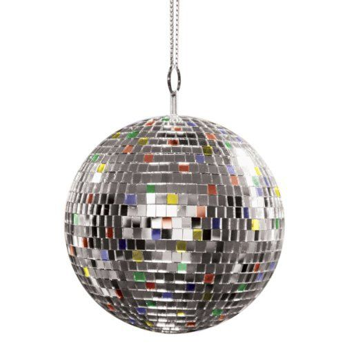 Mr. Light Giant Mirror Ball, 7in by Mr. Light. $27.22. Seven inch multi colored mirror ball. Bring sparkle to your next party. Seven inches in diameter. Shine a light on mirror ball to throw festive light throughout the room. Bring back the era of dancing with this seven inch multi colored mirror ball. From the early German ballroom dancing to the more recent disco dancing of the 70's, this multi colored ball brings the sparkle to your next dance party. Shining a light on...