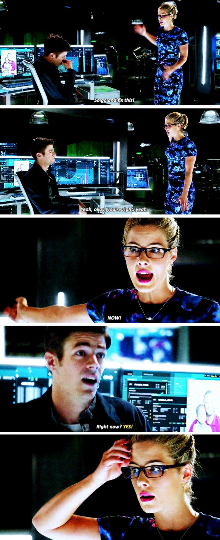Felicity Smoak in #TheFlash #Season3 #3x02