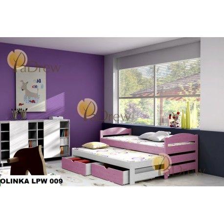 LPW 009, Olinka drevená posteľ ,komplet