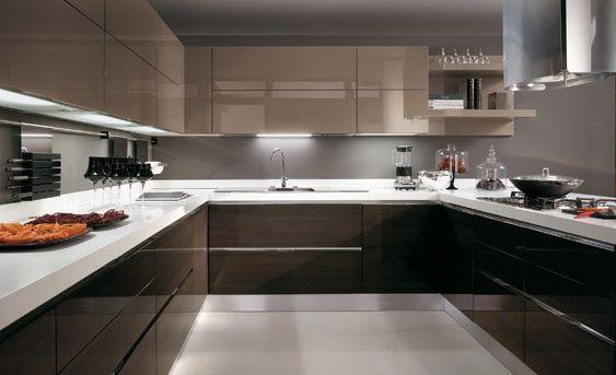 Así sería mi cocina... que bonita