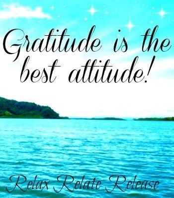 Gratitude is the best attitude! quote via www.Facebook.com/RelaxRelateRelease