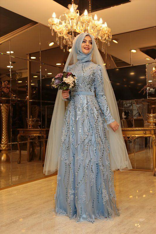 Buket Abiye - Mavi - Pınar Şems