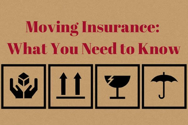 Learn how to choose between moving #insurance options to protect your stuff when you move: http://www.apartmentguide.com/blog/moving-insurance/ #moving #tips