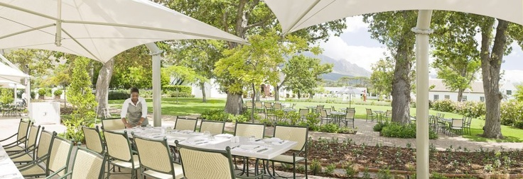 Steenberg Hotel - Constantia's famed restaurant- Catharina's.