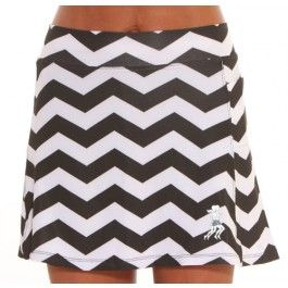 ChevRun Athletic Skirt - style even while working out! Love this skirt! It goes perfectly with my chevron obsession.