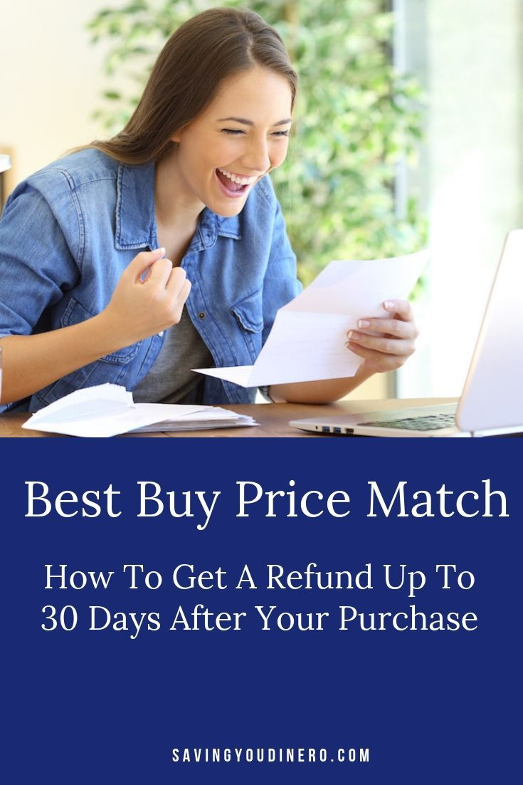 Best Buy Price Match Get A Refund Up To 30 Days After Your Purchase Cool Things To Buy Best Price Match