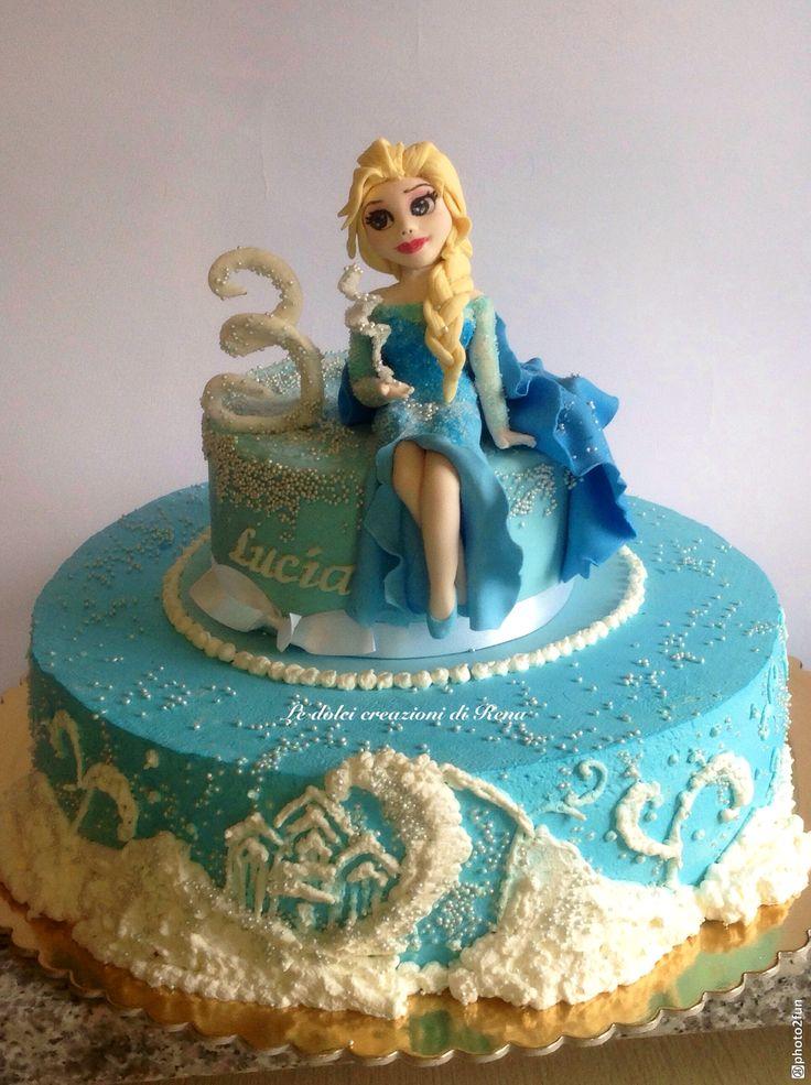 Elsa e il suo regno di ghiaccio...