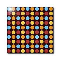 3dRose LLC Retro Dotted Pattern 4-Inch Ceramic Tile by 3dRose. $11.99. Dimensions: 4-inch h by 4-inch w by 1/4-inch d. Image applied to the top surface. Construction grade floor installation not recommended. Clean with mild detergent. High gloss finish. Retro dotted pattern tile is great for a backsplash, countertop or as an accent. This commercial quality construction grade tile has a high gloss finish. The image is applied to the top surface and can be cleaned with ...