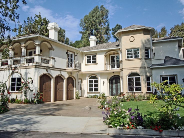 Grand Mediterranean In Rustic Canyon Pacific Palisades CA Single Family Home