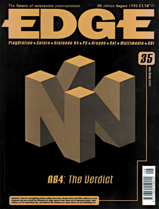 Edge Magazine: The 20 best covers of all time! | Print design | Creative Bloq