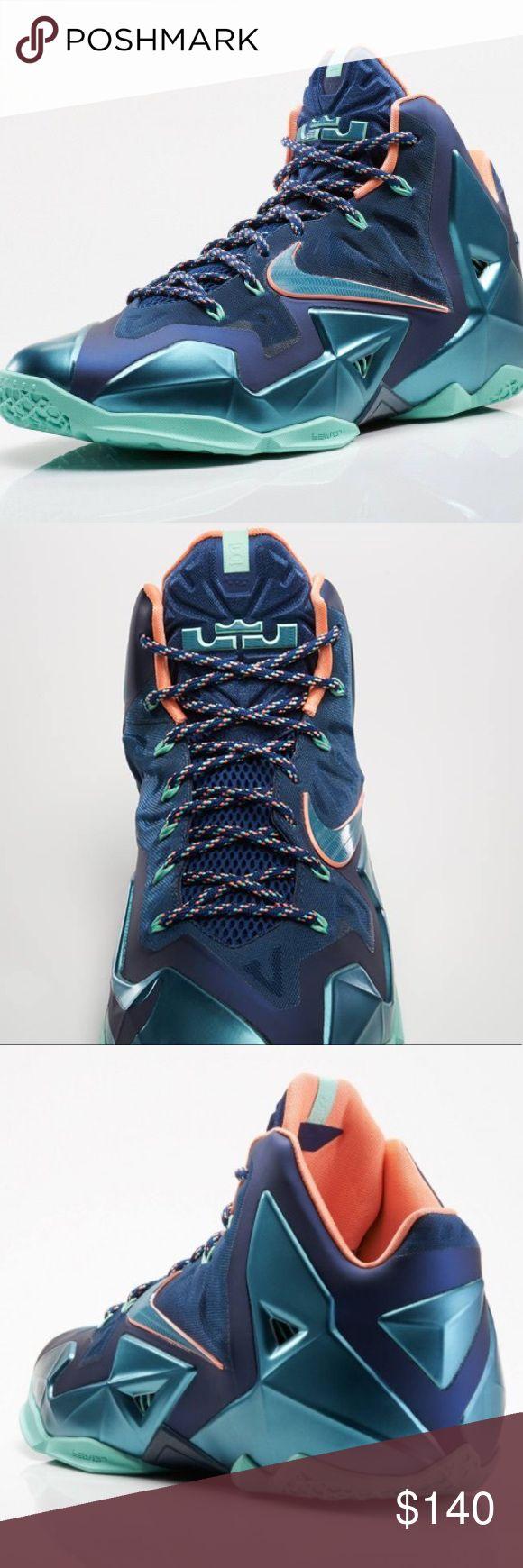 "Men's Nike LeBron 11 ""Akron Vs Miami Men's Nike LeBron 11 ""Akron Vs Miami in nearly perfect condition. Size 13, no box. Awesome shoes Nike Shoes Sneakers"