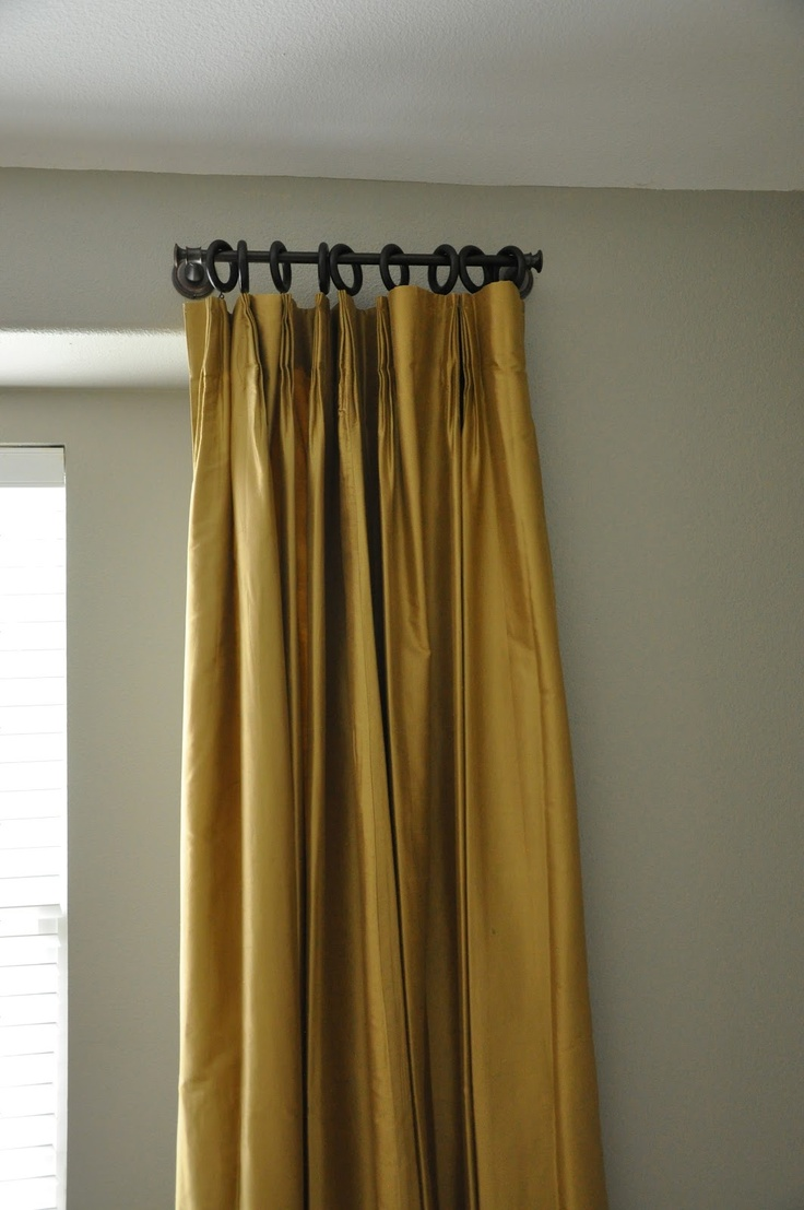 Towel Bar To Hang Stationary Draperies Such A Great Money
