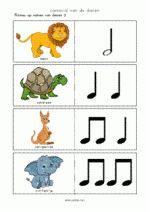 Vouwkaartjes Carnaval Dieren - ritmes Doel: leerlingen spelenderwijs vertrouwd maken met notenschrift. Tips voor gebruik: zie Handleiding Carnaval van de Dieren