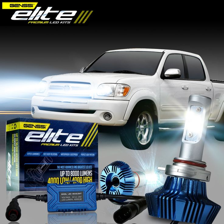 G7 Elite LED conversion headlight kit for the Toyota Tundra 1999-2006 models headlight