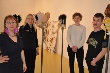 Julie Legrand, Patricia Erbelding, Julie Krakowski et Mehryl Levisse.
