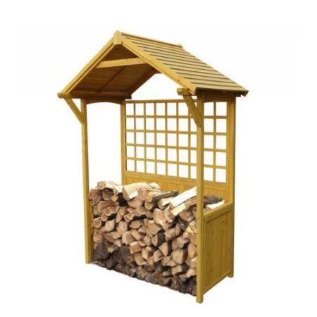Leisure Season 7 Ft. x 4 Ft. Wood Log Store