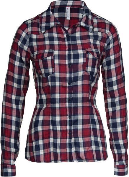 Рубашка в клеточку стиль
