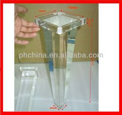 Atl 006 Modern Factory Sell Acrylic Legs For Furniture,Clear Acrylic  Furniture Legs,