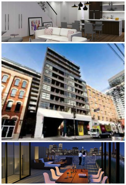 Check out the newly constructed condos at 478 King Street West: Victory Condos.
