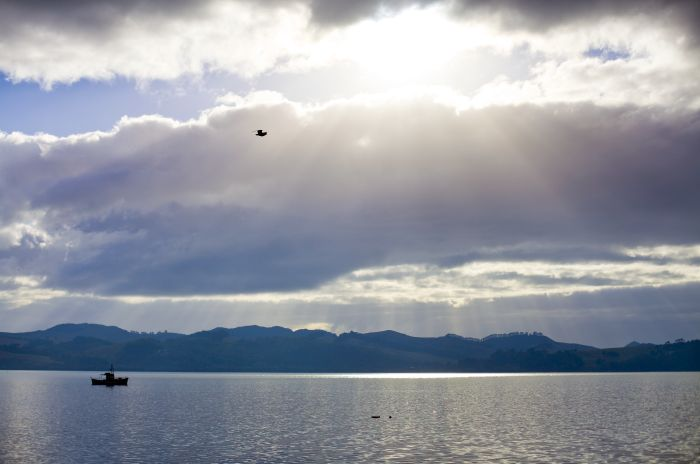 """Magical Mangonui"" (Doubtless Bay, NZ). copyright © Debra Stratford"