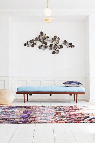 Boucherouite rugs at The Appartment in Copenhagen. www.theapartment.dk