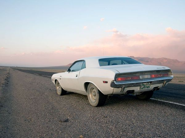"""Dodge Challenger """"Vanishing Point"""" 1970 - Muscle car"""