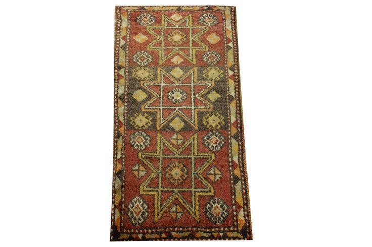 Doormats Turkish rugs handmade 3.0 x 1.4 Feet Anatolian pattern bathmats Small size rugs Rustic Rug Handwoven rug natural dye wool rug HY-29 by stripepattern on Etsy