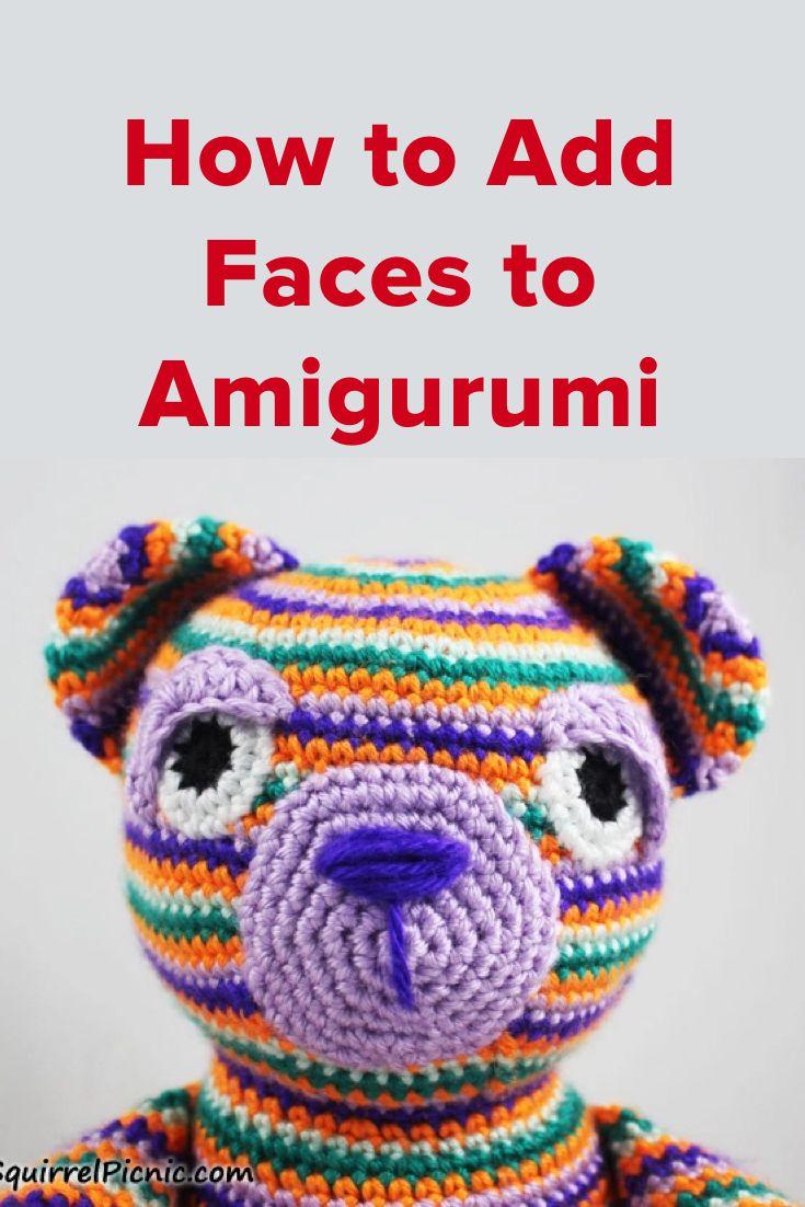 Crochet Amigurumi Faces : 164 best images about crochet FREEFORM CROCHET on ...