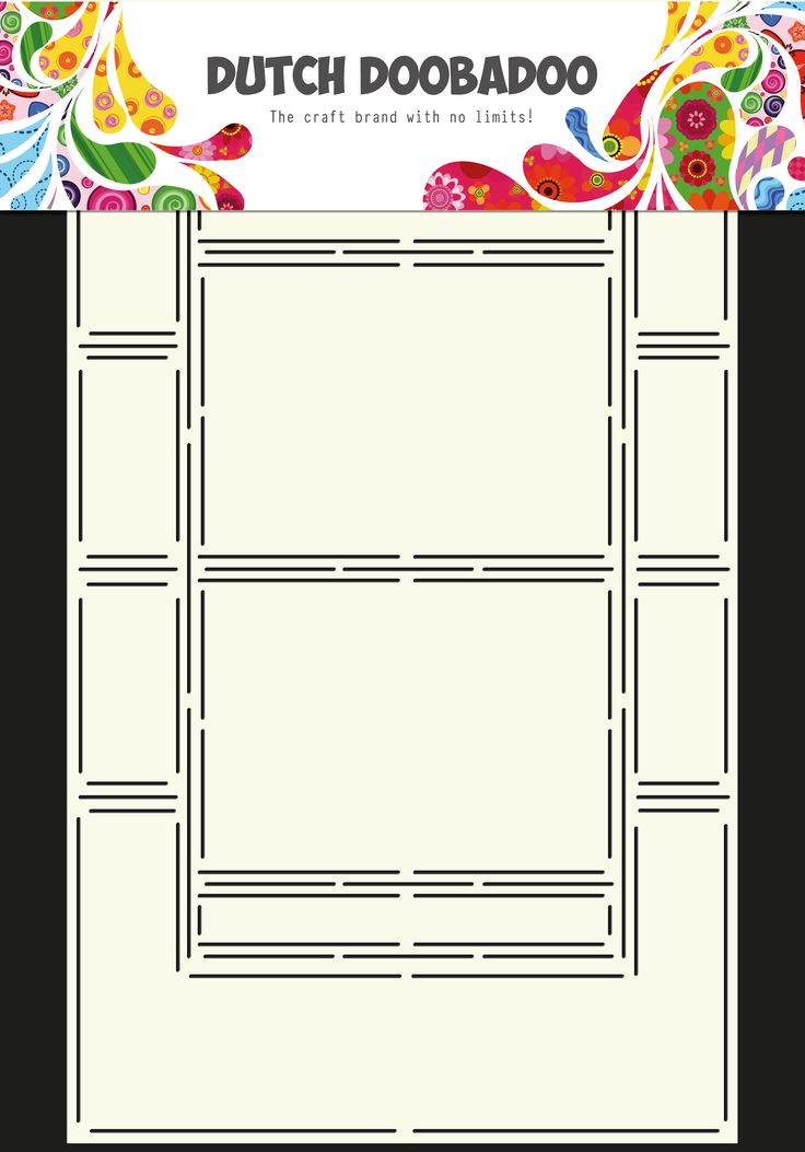 470.713.308 Dutch Doobadoo Swing Card Art