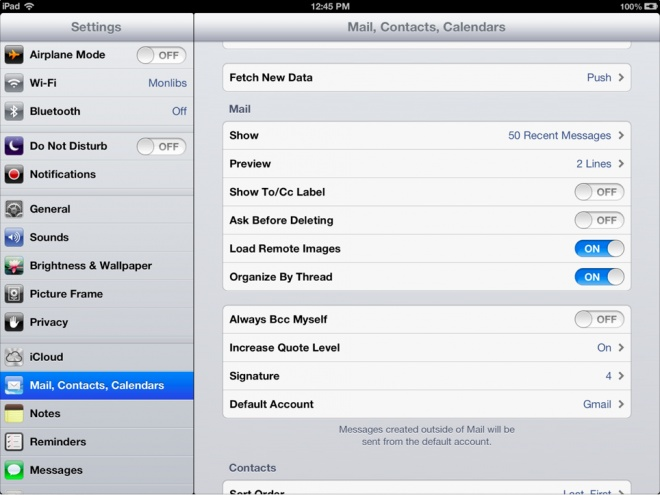 How To: Set multiple email signatures on your iPhone or iPad in IOS6