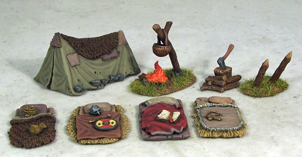 Adventurers' Campsite | Otherworld Miniatures