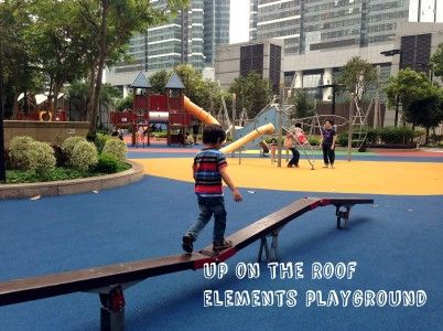 Looking for a Hong Kong playground that's a bit different? Here's a review of a morning out at Elements playground, including nearby child-friendly restaurants and activities.#hongkongkids