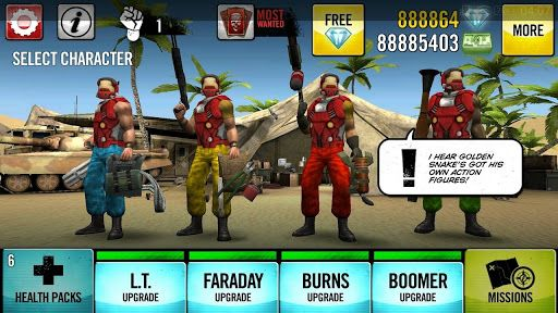 How to Cheat Game Guns 4 Hire Mod apk