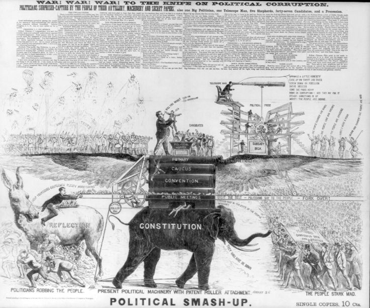 From the Presidential Election Campaign of 1872- Fight Political Corruption