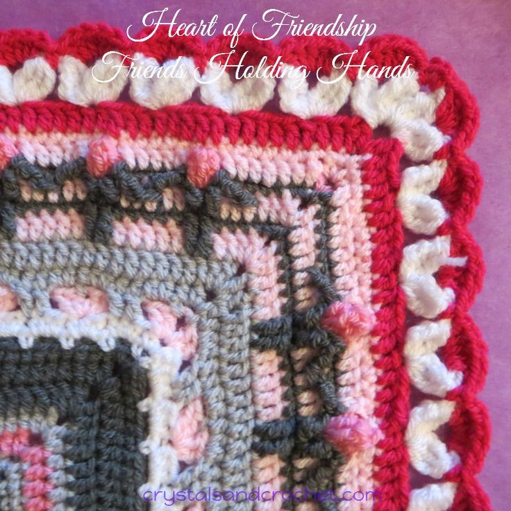 Welcome to part 5 of Heart of Friendship crochet a-long. In our final 2 weeks together,  you will be joining your squares and making the border, Friends Holding Hands. ♥ Crochet is an artform, a craft, an addiction! which brings so many of us together from all over the world. The friends holding hands in the border symbolises all Continue Reading